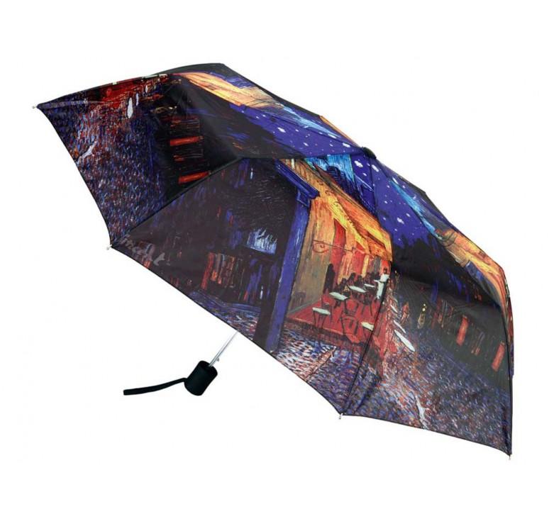 VIP Набор «Ван Гог. Терраса кафе ночью»: платок, складной зонт