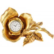 VIP Часы настольные «Роза»
