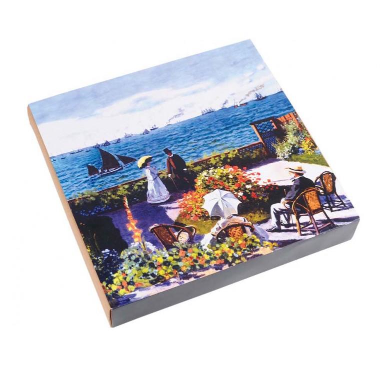 VIP Часы настенные «Моне. Сад в Сент-Андрес»