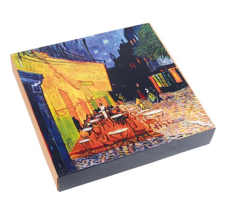 VIP Часы настенные «Ван Гог. Терраса кафе ночью»