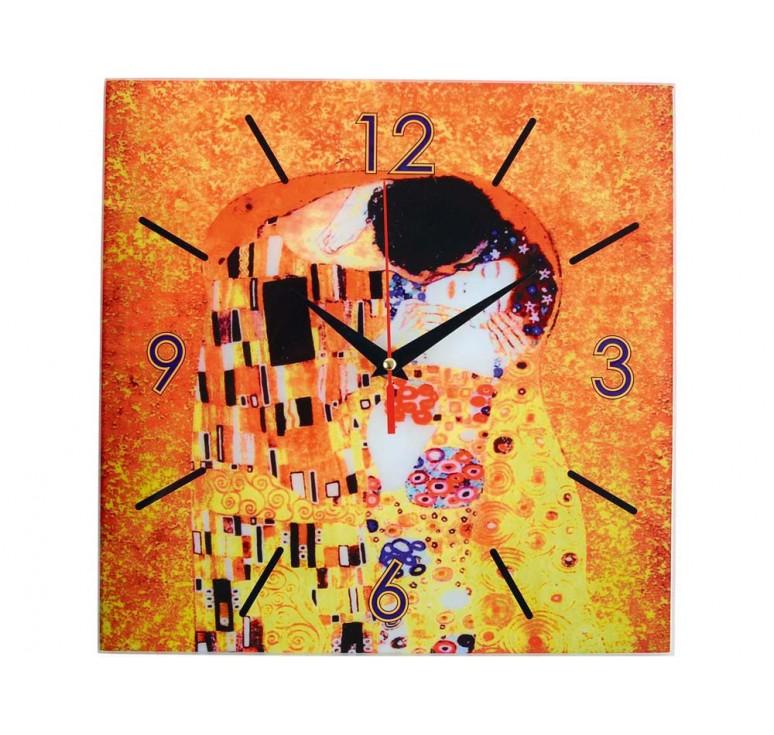 VIP Часы настенные «Климт. Поцелуй»
