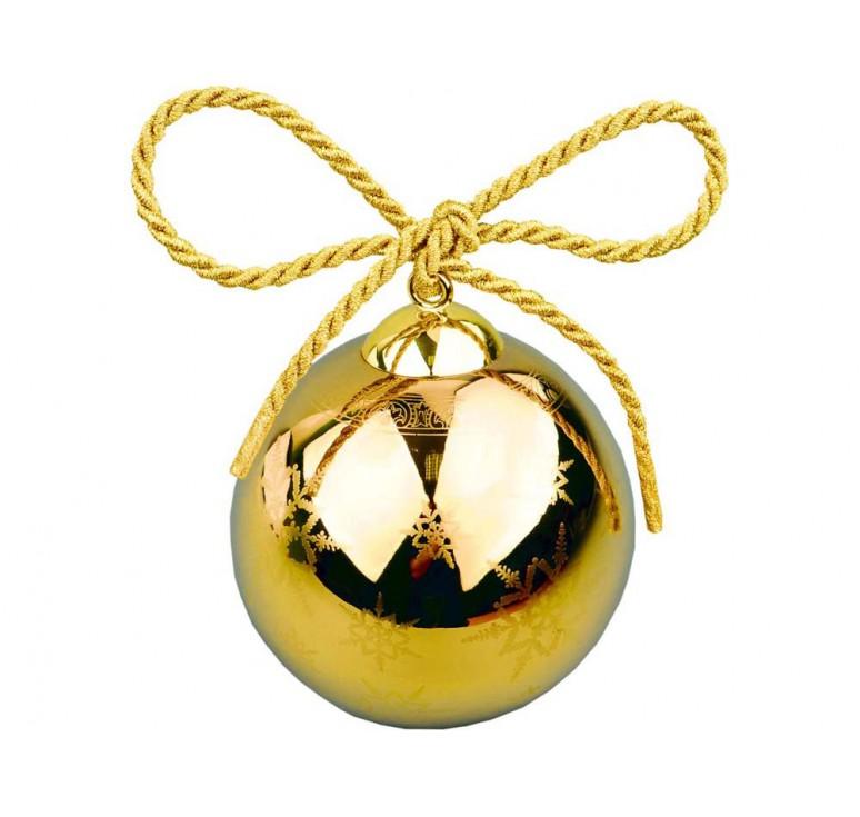 VIP Рождественский шарик «Gold»