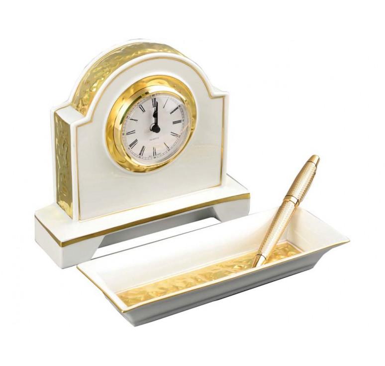 VIP Набор: часы, керамический органайзер