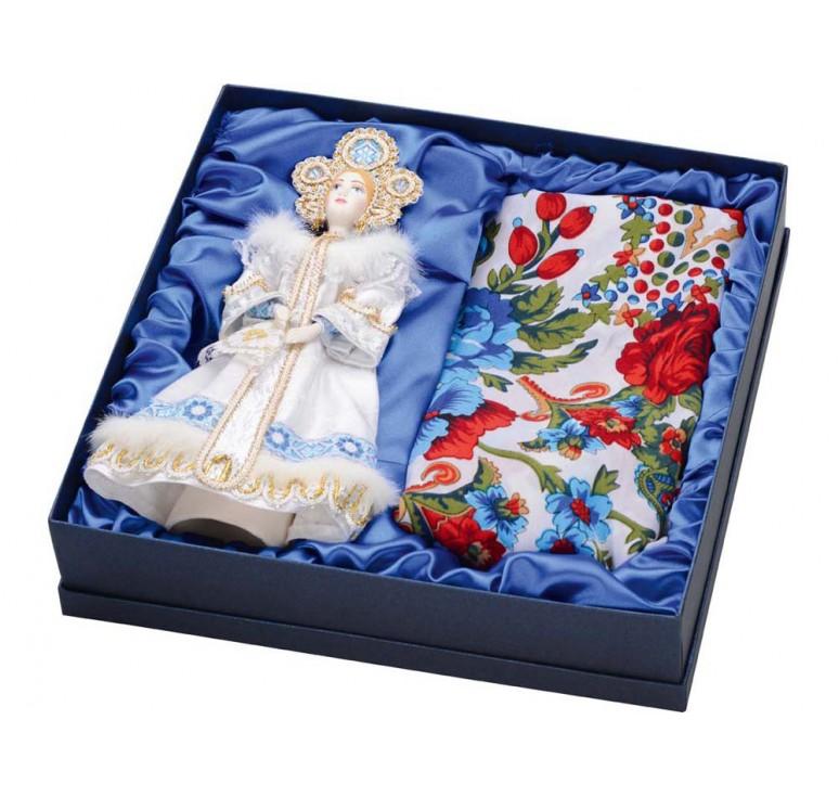 VIP Набор «Аленушка»: кукла, платок