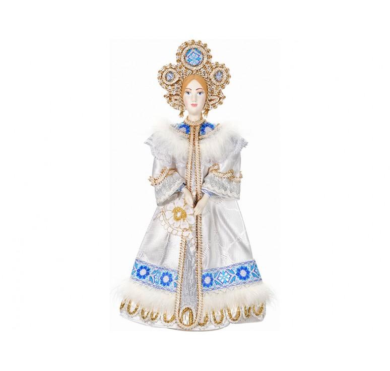 VIP Набор «Новогоднее настроение»: кукла-снегурочка, варежки