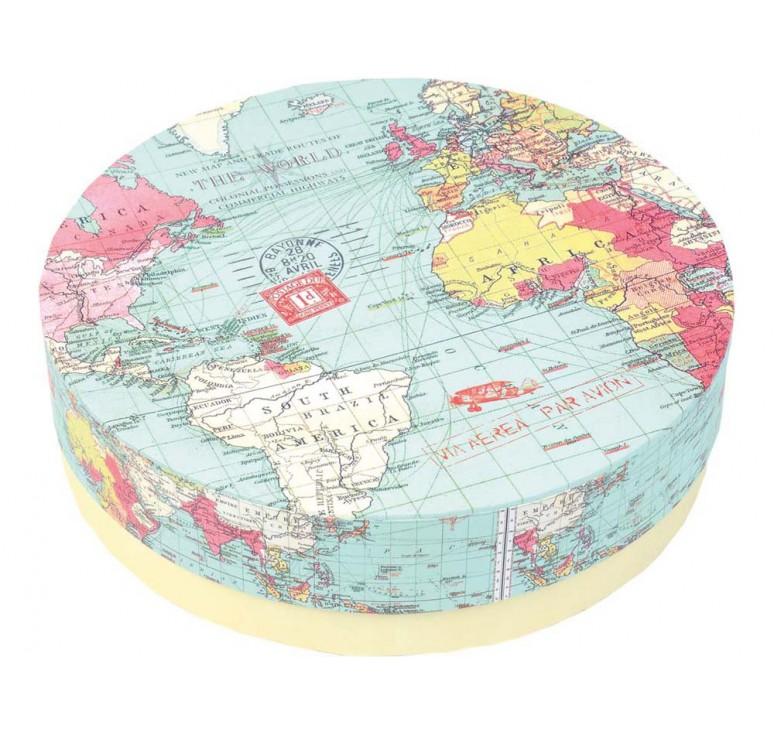 VIP Набор тарелок «Карта мира»