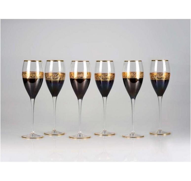 VIP Набор бокалов для шампанского «Несомненный успех»