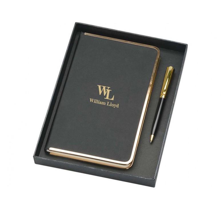 VIP Набор: записная книжка, ручка шариковая