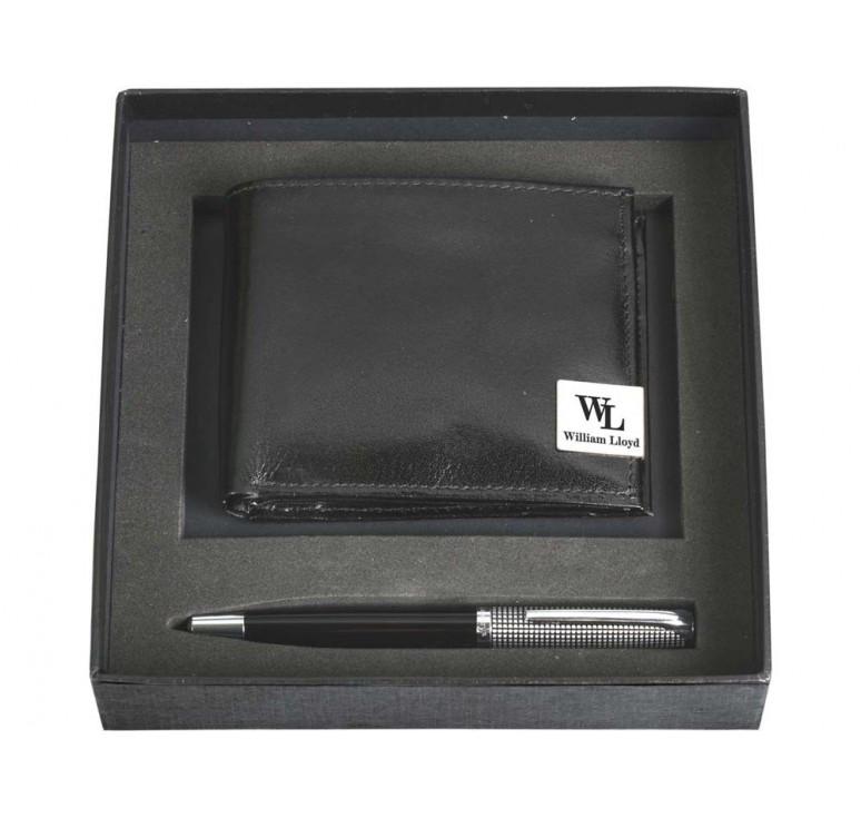 VIP Набор: портмоне, ручка шариковая