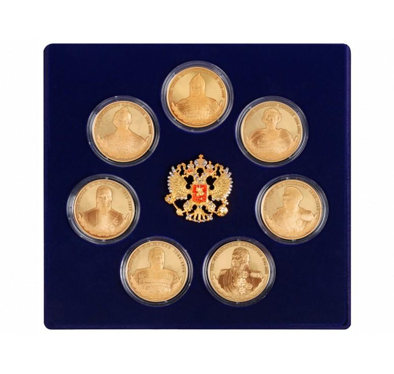 VIP Набор медалей «Великие полководцы России»