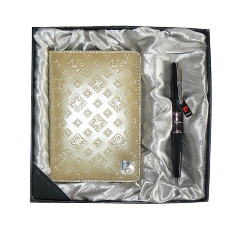 VIP Набор: ручка шариковая, обложка для паспорта