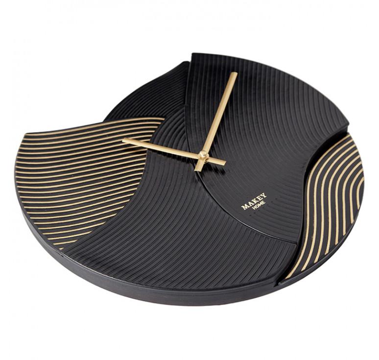Часы настенный | Deco | Черный