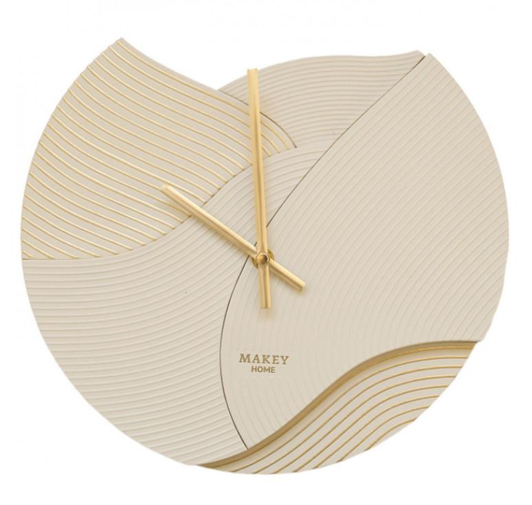 Часы настенный | Deco | Молочный