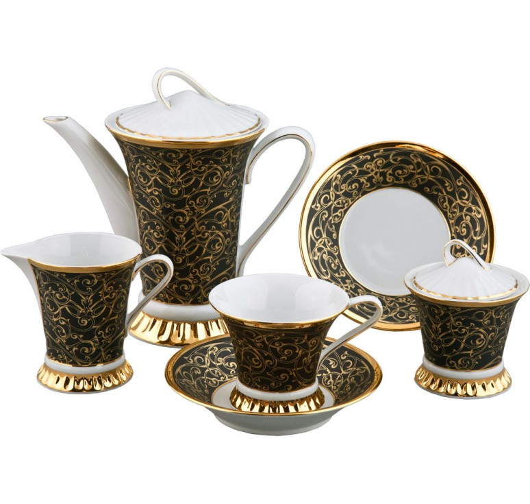VIP Чайный сервиз на 6 персон «Byzantine»