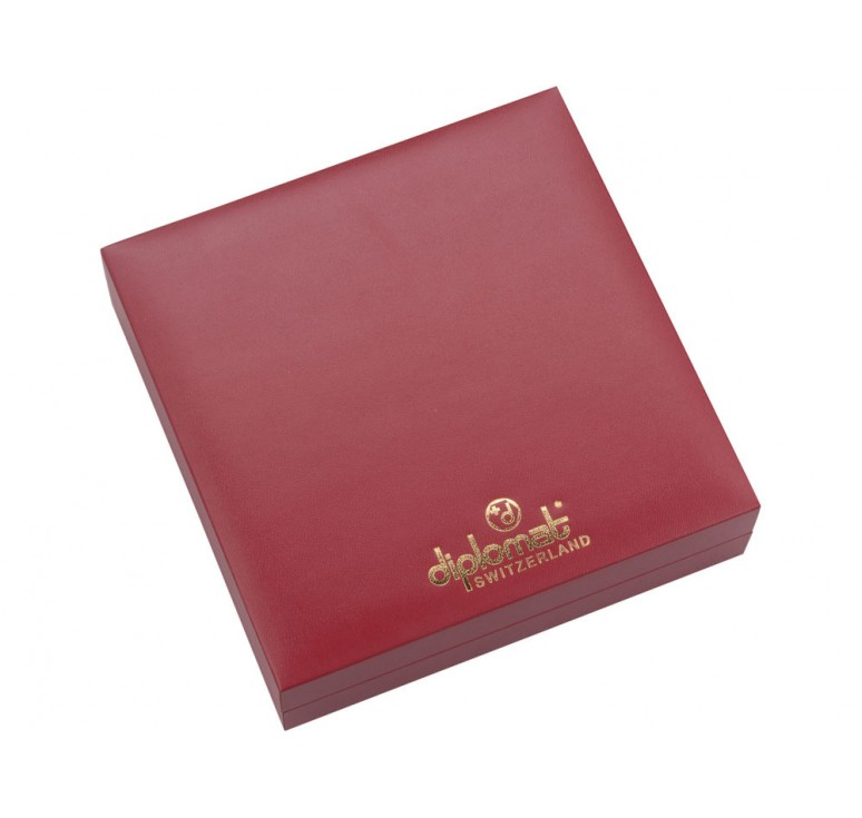 VIP Набор: обложка для паспорта, ручка шариковая