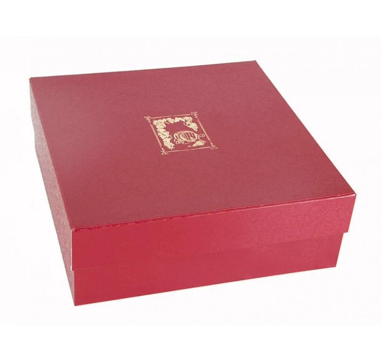 Набор стопок-перевертышей из шести штук в картонном футляре