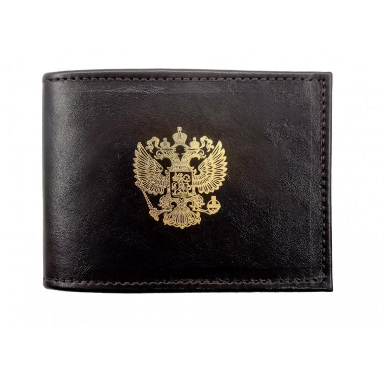Обложка для удостоверения   Золотая пластинка   Чёрный   Арт. 003-16-00