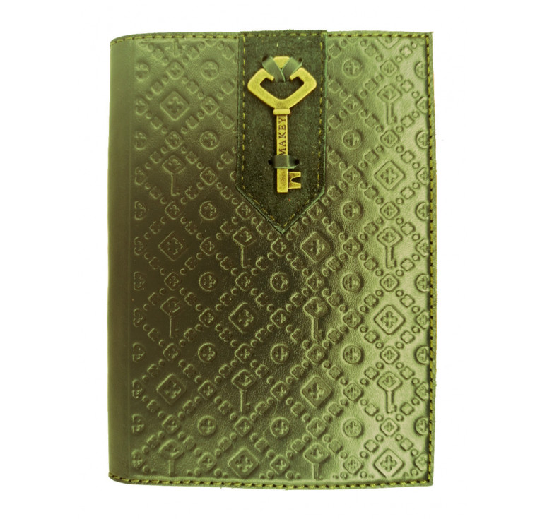 Обложка на паспорт | Ключ | Зеленый