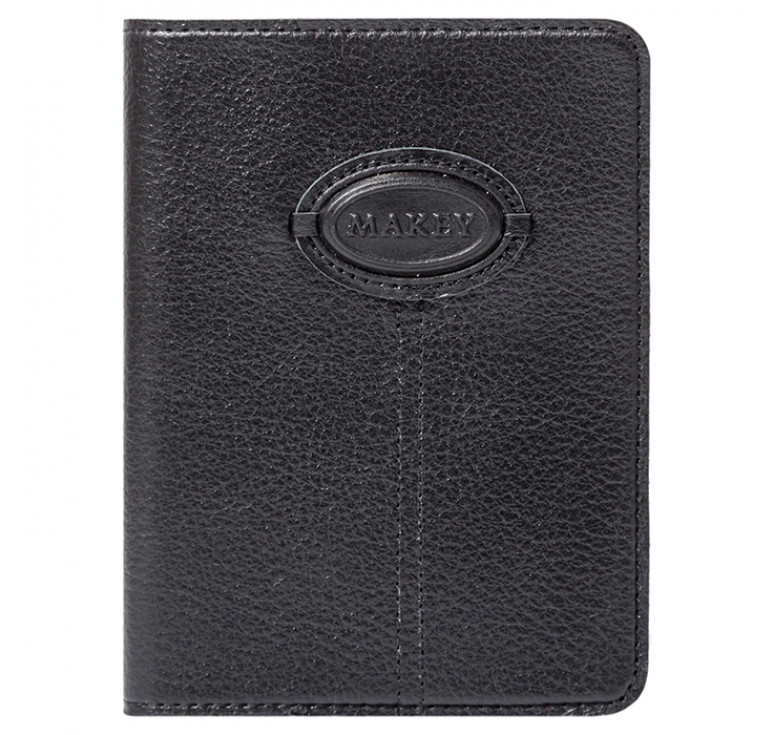 Обложка на паспорт | Classic | Черный