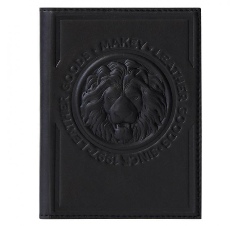 Обложка для автодокументов | Royal | Чёрный