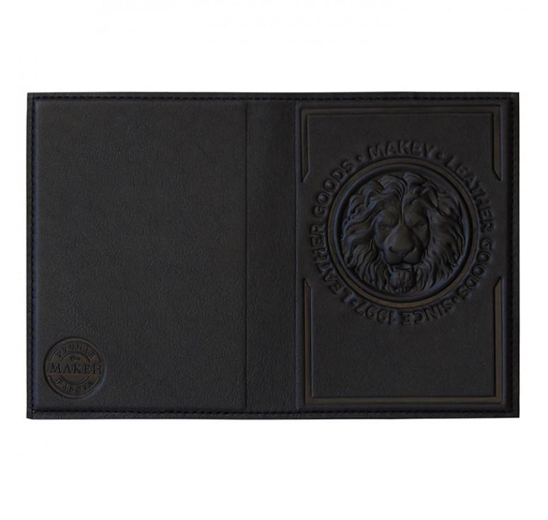 Обложка на паспорт   Royal   Чёрный