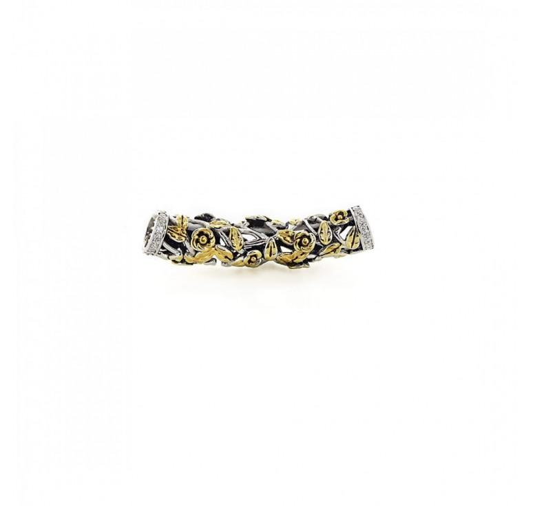Подвеска-перлина  «Золотой шиповник»