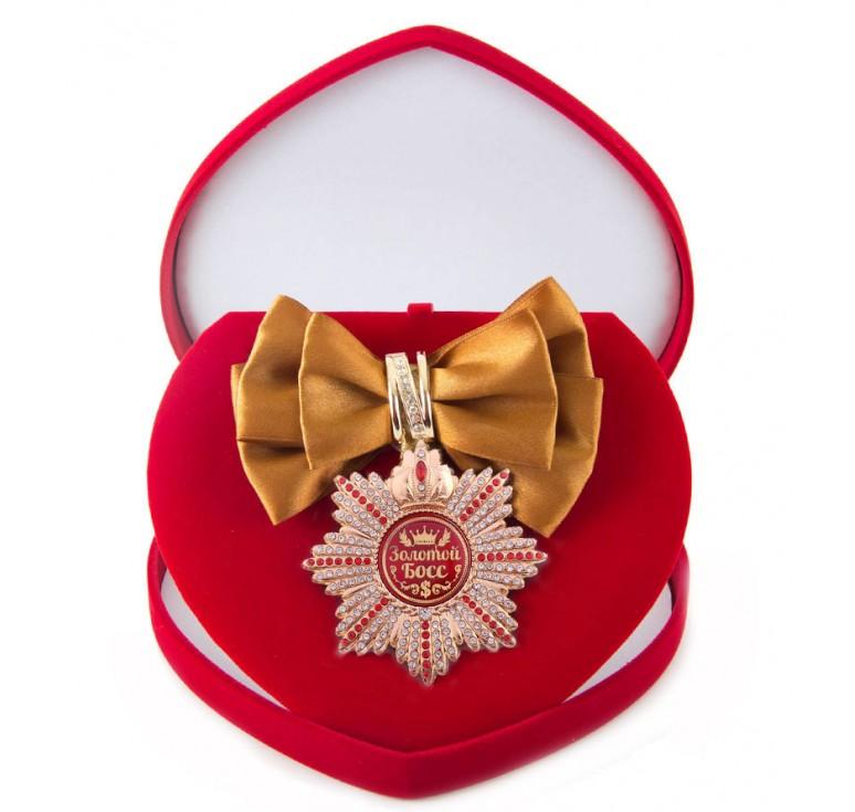 Большой Орден  Золотой босс (бронзовая лента)
