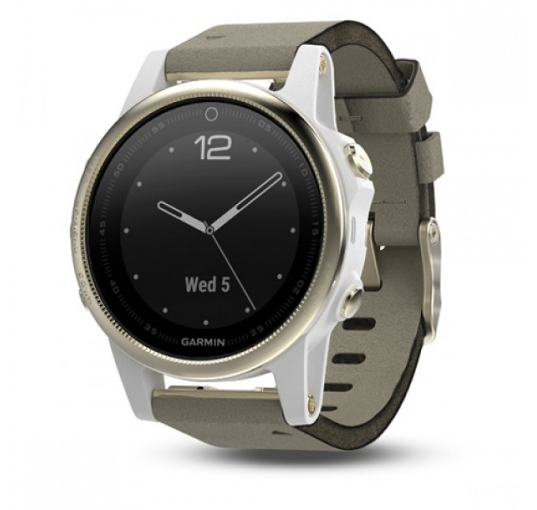 Fenix 5s Sapphire with Suede Band