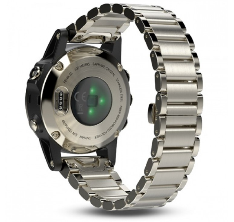 Fenix 5s Sapphire with Metal Band