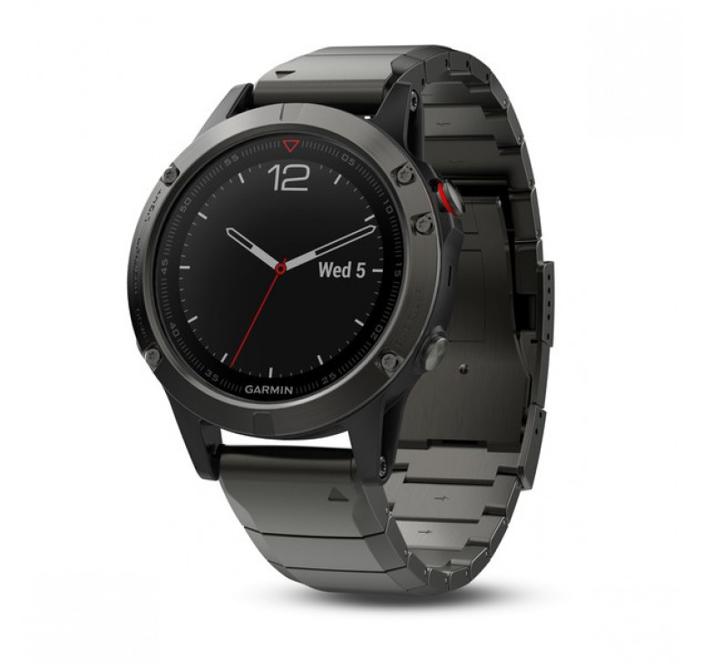 Fenix 5 Sapphire with Metal Band