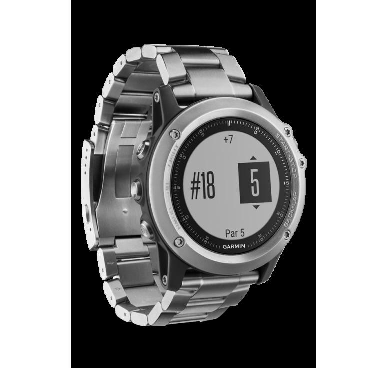 Fenix 3 HR Silver с титановым браслетом