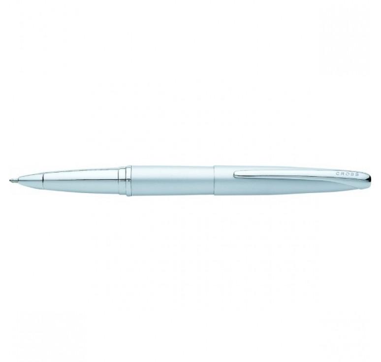 Ручка-роллер Selectip Cross ATX. Цвет - серебристый матовый.