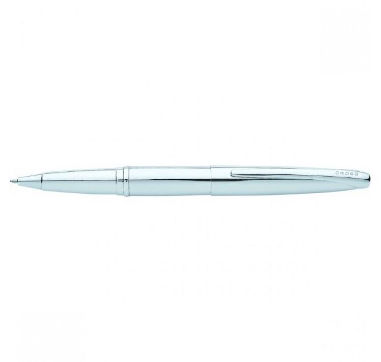 Ручка-роллер Selectip Cross ATX. Цвет - серебристый.