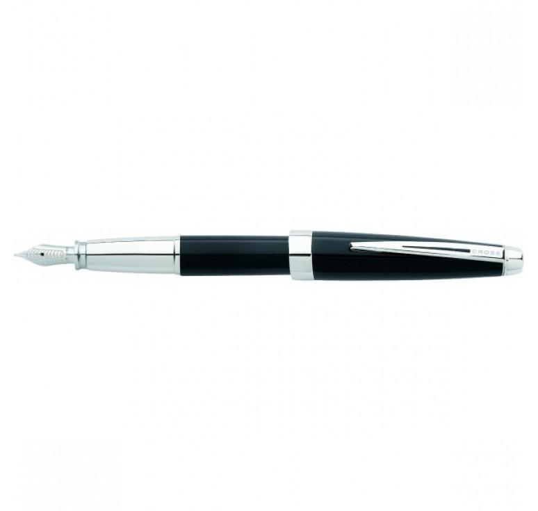Перьевая ручка Cross Aventura. Цвет - черный.