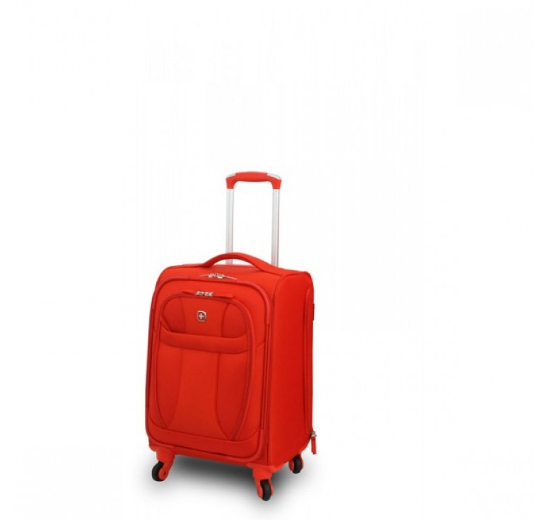 "Чемодан WENGER ""NEO LITE Pilot Case"", оранжевый, полиэстер, 35х23x58 см, 40 л"