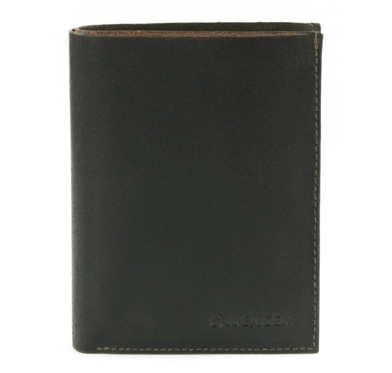 Портмоне WENGER Cloudy, коричневый, воловья кожа, 9,5х12х1 см