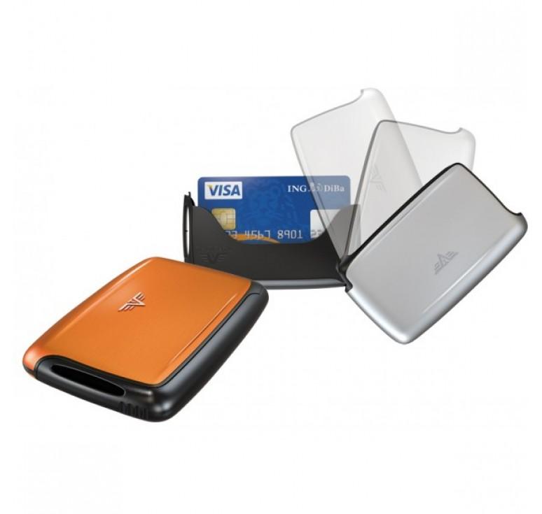 Визитница TRU VIRTU PEARL, оранжевого цвета, 104x67x17 мм