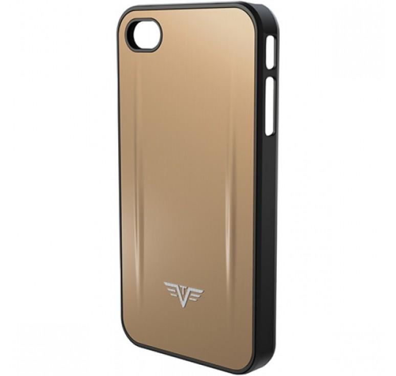 Чехол для iPhone 5 TRU VIRTU SHELL, светло-бежевого цвета, 126х61х10 мм