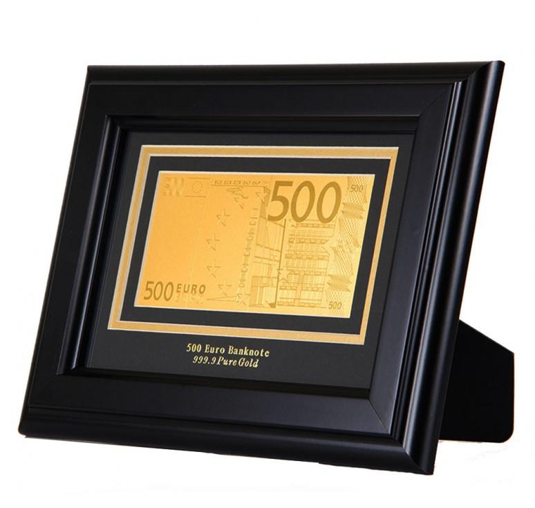 """Панно подарочное Банкнота """"500 EURO"""""""