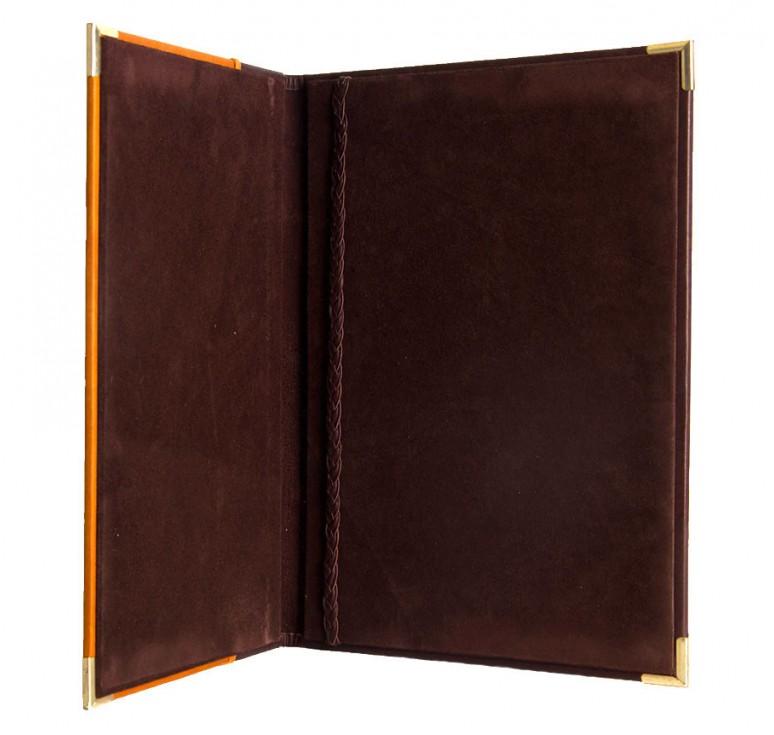 Папка для документов оранжевая