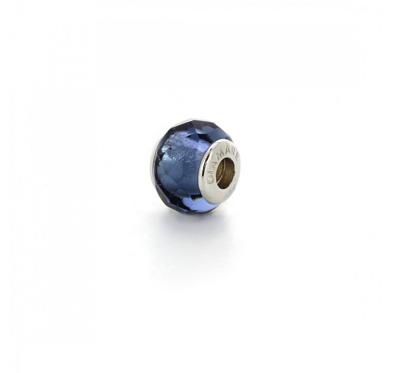 Подвеска-перлина  «Прозрачная синева»