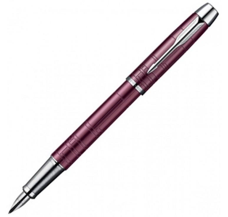 Перьевая ручка Parker IM, цвет - розовый металлик, перо - нержавеющая сталь