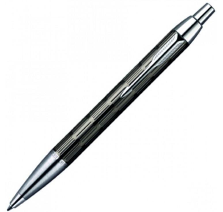 Шариковая ручка Parker IM, цвет - стальной