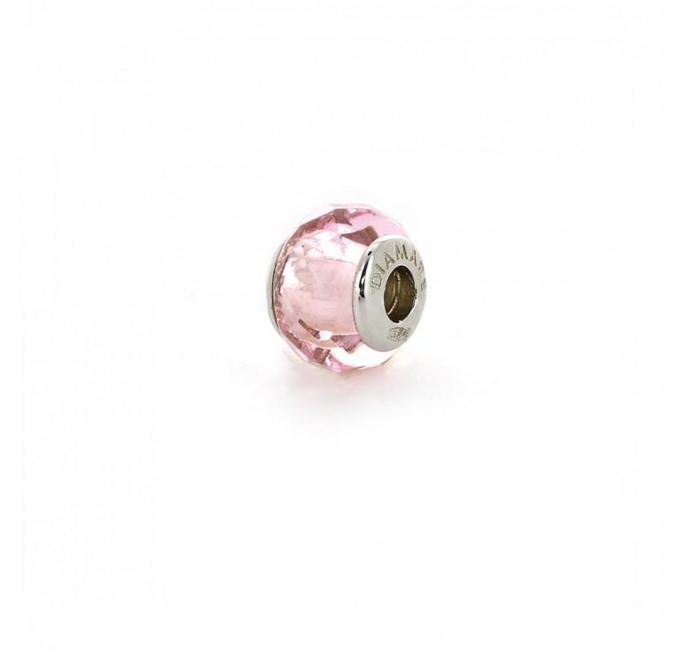 Подвеска-перлина «Розовый восход»