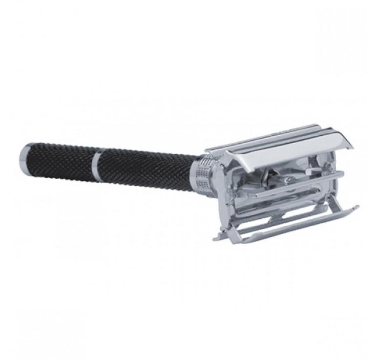Станок для бритья  Erbe, цвет хром, ручка черная