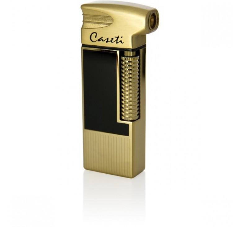 """Зажигалка """"Caseti"""" для трубок газовая пьезо, золото, 1,4х3,4х8 см"""