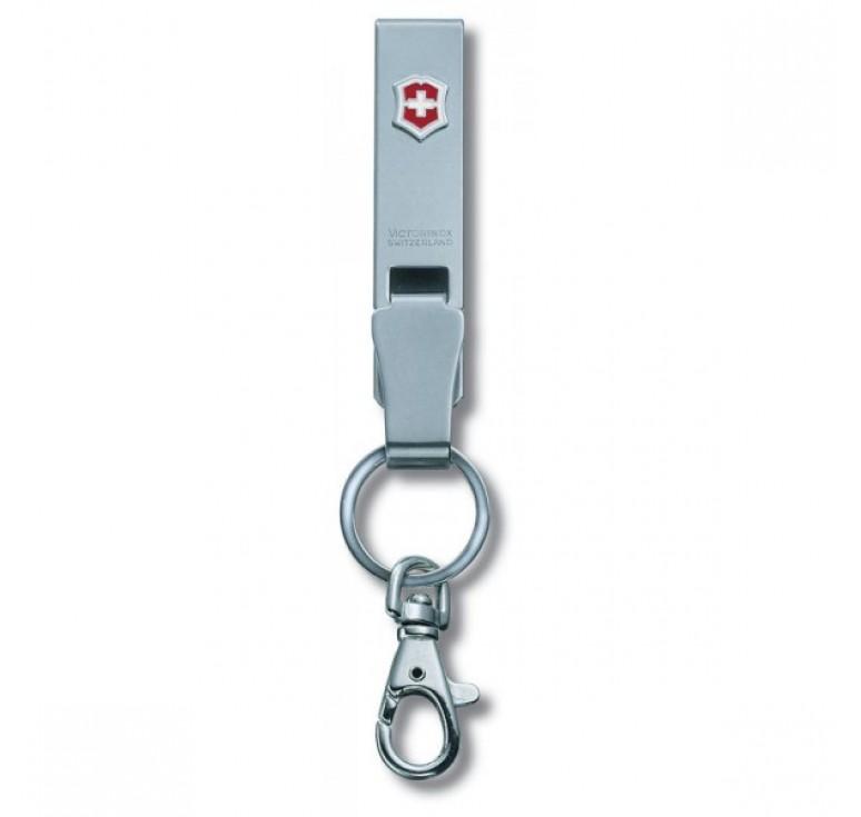"""Подвеска на ремень VICTORINOX """"Multiclip"""", с карабином и кольцом для ключей, металлическая"""
