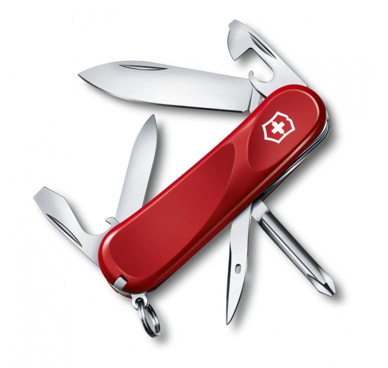 Нож перочинный VICTORINOX Evolution 11, 85 мм, 13 функций, красный