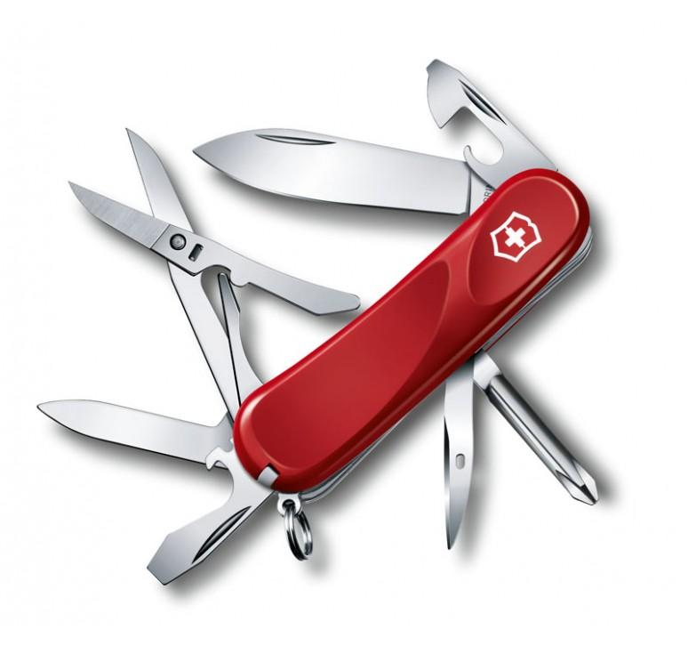 Нож перочинный VICTORINOX Evolution 16, 85 мм, 14 функций, красный