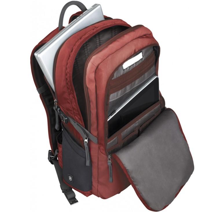 Рюкзак VICTORINOX Altmont™ 3.0, Deluxe Backpack 17'', красный, нейлон Versatek™, 34x18x50 см, 30 л